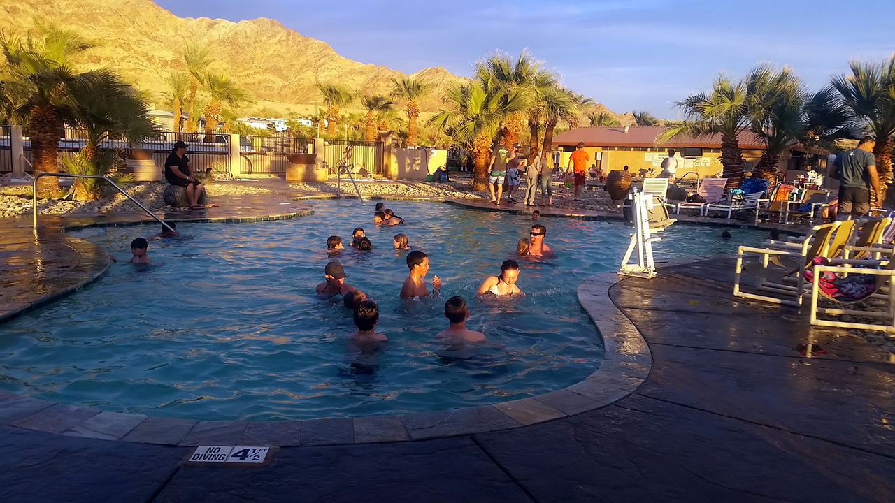 A picture at Glamis North Hot Springs Pool Complex