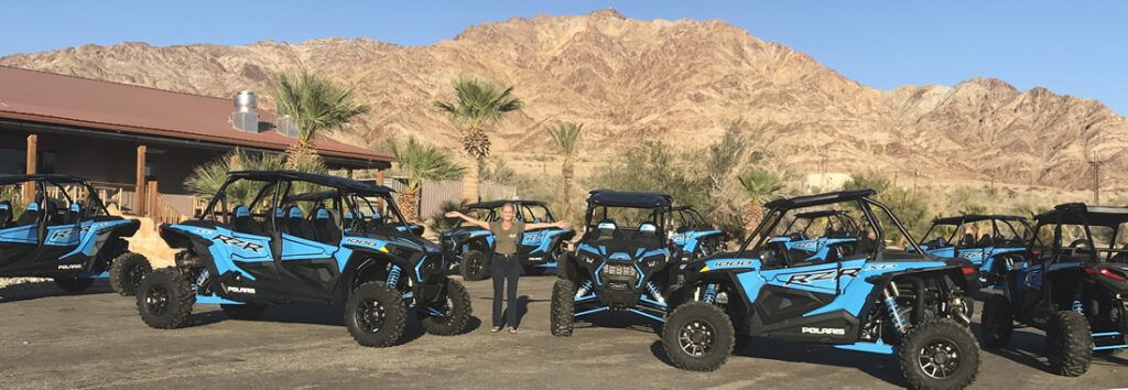Rental RZR's at Glamis North